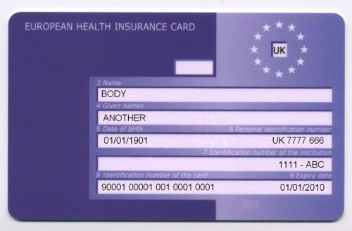 how to get a new national insurance card