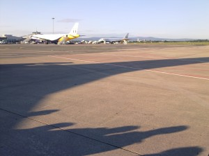 Before Travel Airport Apron