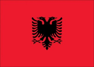 Albania Flag Opt